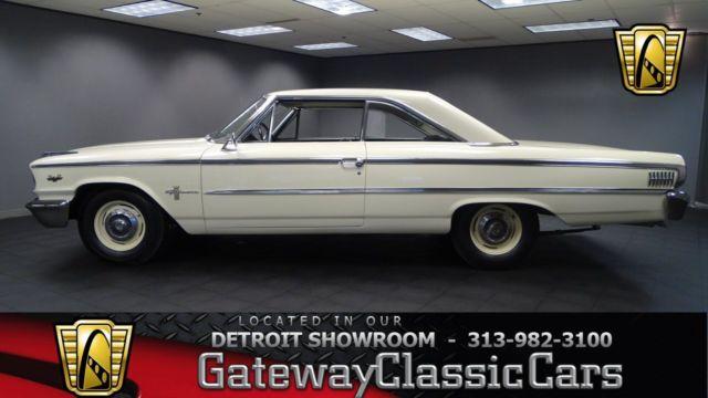 1963 Ford Galaxie 500 R Code 1500 Miles Corinthian White 2