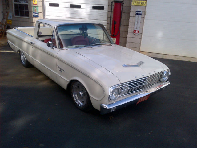 1963 Ford Ranchero / Falcon Lowered Hot Rod 289 5-Speed Rust