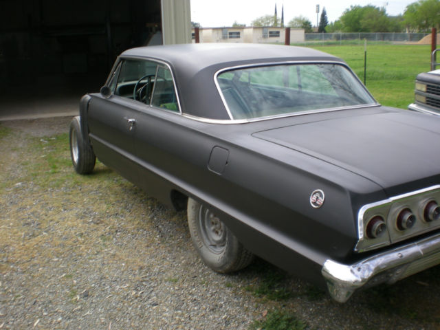 1963 Impala Ss Project In Progress No Engine Or