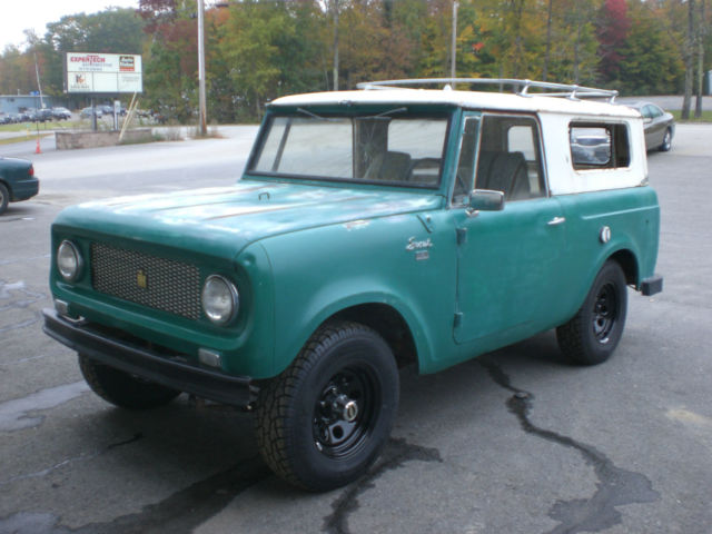 1963 International Scout 80 Nevada Vehicle Nevada Title
