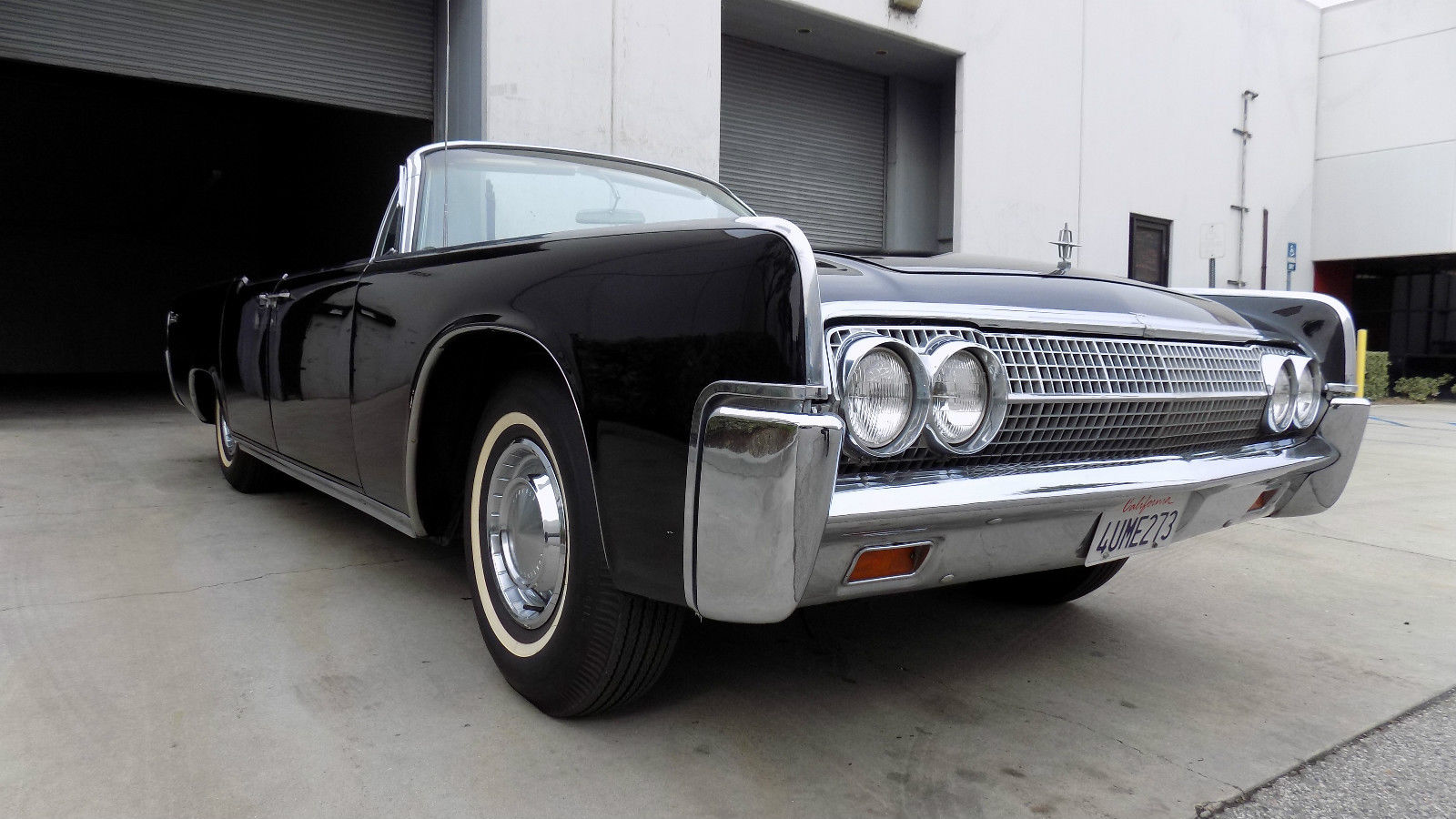 1963 lincoln continental convertible all original black on black classic lincoln continental. Black Bedroom Furniture Sets. Home Design Ideas