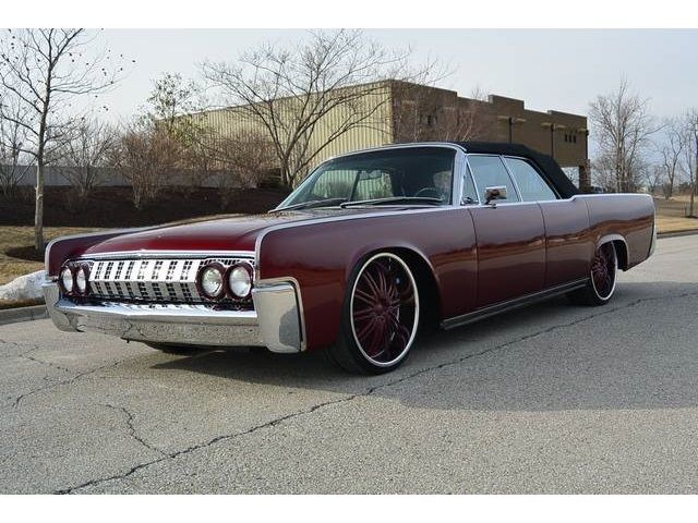 1963 Lincoln Continental Convertible Custom Classic