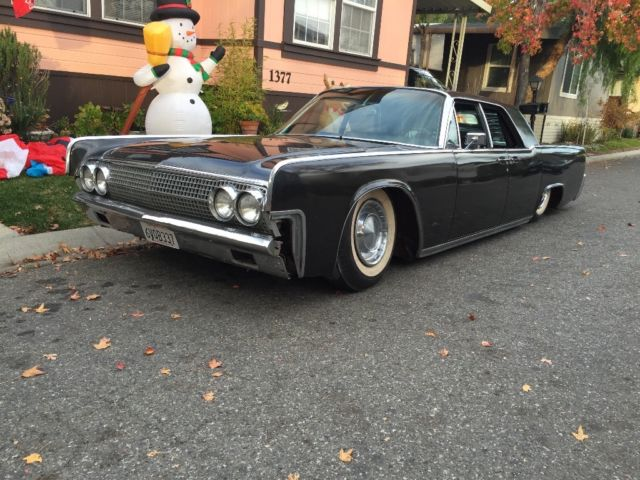 1963 Lincoln Continental Luxury Sedan Kustom Hot Rod Rat
