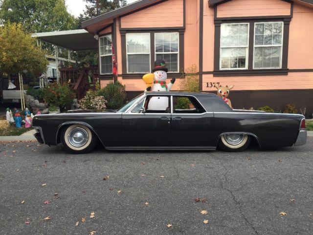 1963 lincoln continental luxury sedan kustom hot rod rat rod slammed classic lincoln. Black Bedroom Furniture Sets. Home Design Ideas