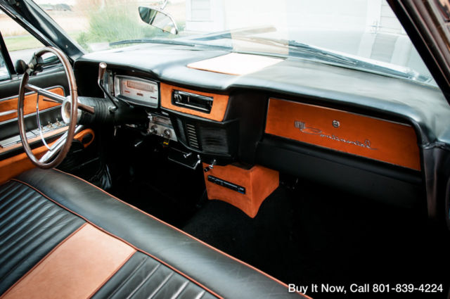 1963 Lincoln Continental Suicide Doors Custom Interior
