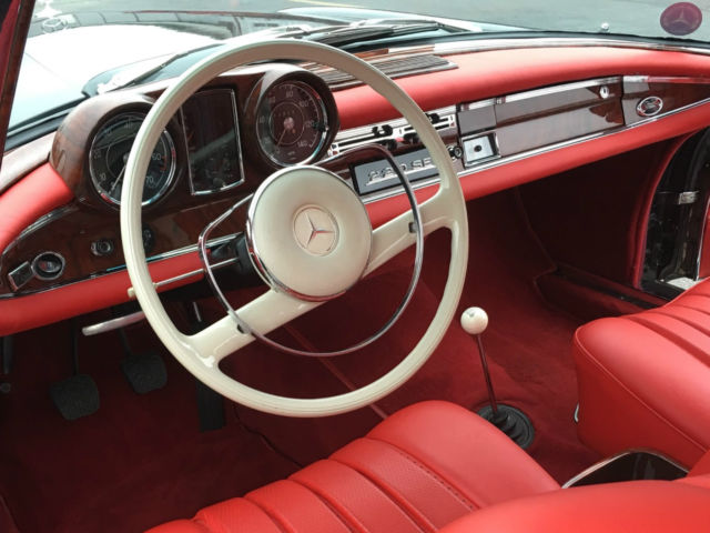 1963 mercedes benz 220se coupe award winner new paint new interior and wood classic. Black Bedroom Furniture Sets. Home Design Ideas