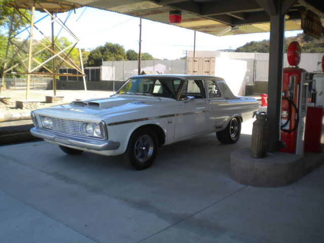 1963 Plymouth Belvedere Super Stock Street Drag Strip