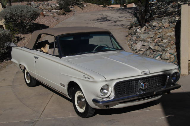 1963 plymouth valiant signet 200 convertible restored classic plymouth other 1963 for sale. Black Bedroom Furniture Sets. Home Design Ideas