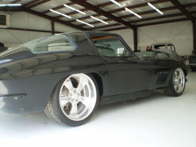 1963 split window restomod project car downs corvette