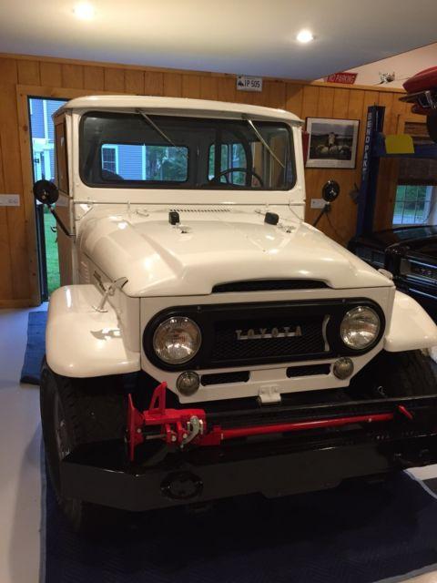 1963 Toyota FJ40 Land Cruiser Frame Off Restoration - Classic Toyota