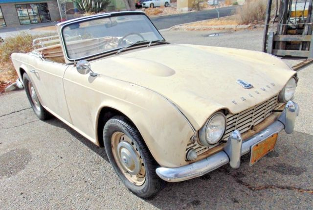 Classic Triumph Other 1963 For Sale: 1963 Triumph TR4-Long Long Time Sitter-Like 35 Years