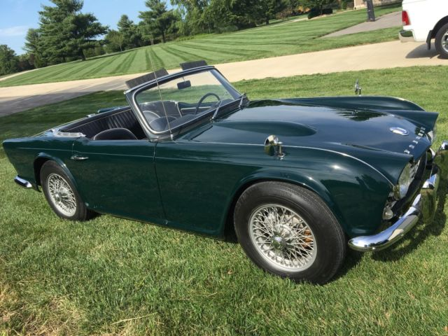 Classic Triumph Other 1963 For Sale: 1963 Triumph TR4 Tuder Perfect Restoration, All Numbers