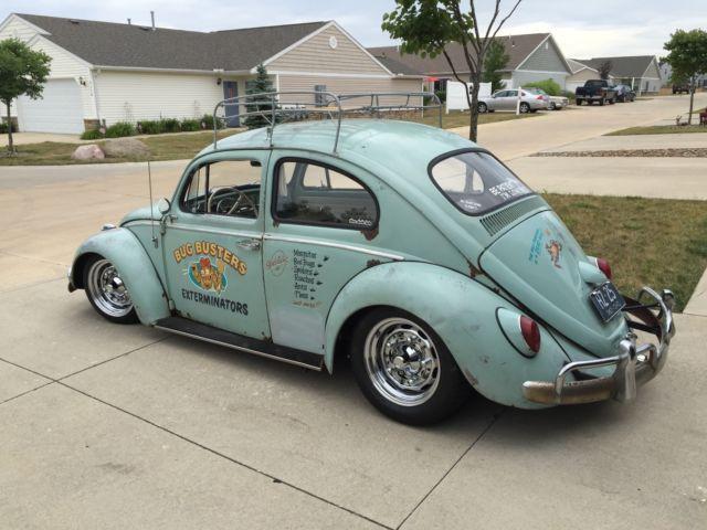 1963 Volkswagen Beetle Bug Rare Vintage Rat Rod Lowered Custom - Classic Volkswagen Beetle ...