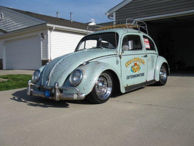 1963 Volkswagen Beetle Bug Rare Vintage Rat Rod Lowered
