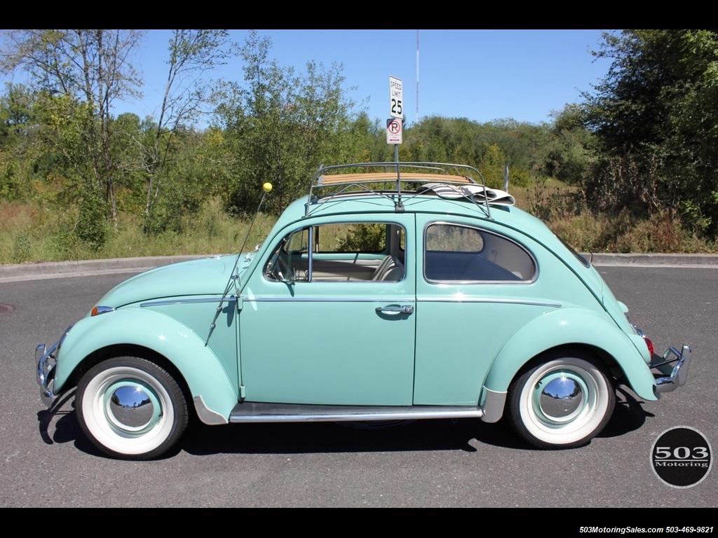 1963 Volkswagen Beetle-Classic Ragtop 4 Speed Manual 2-Door Sedan - Classic Volkswagen Beetle ...