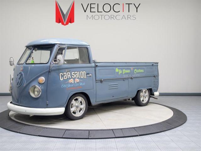 Vw Of Kirkland >> 1963 Volkswagen Bus/Vanagon Pickup truck 4 Speed Manual 2 ...