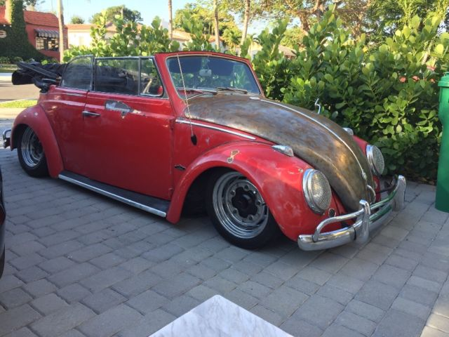 1963 VW Beetle Convertible Slammed - Classic Volkswagen Beetle - Classic 1963 for sale