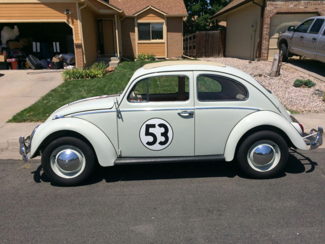Used Cars Fort Collins >> 1963 VW Beetle Herbie Fully Animatronic Volkswagen Love Bug Movie Car - Classic Volkswagen ...