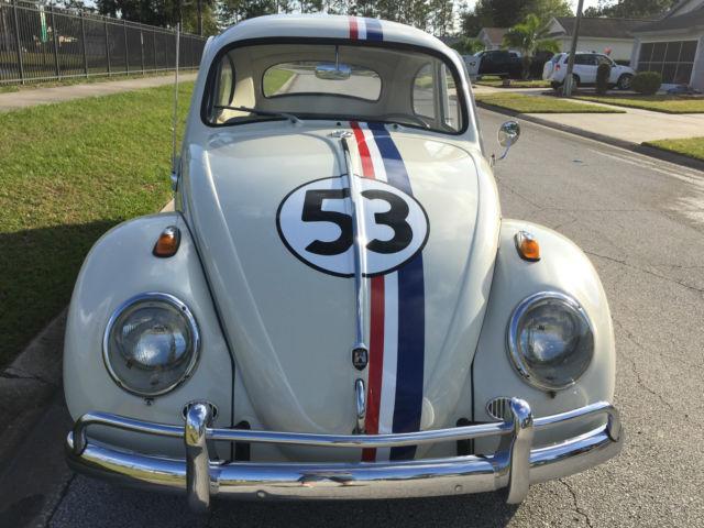 1963 Vw Bug Classic Beetle Herbie Tribute Great Florida