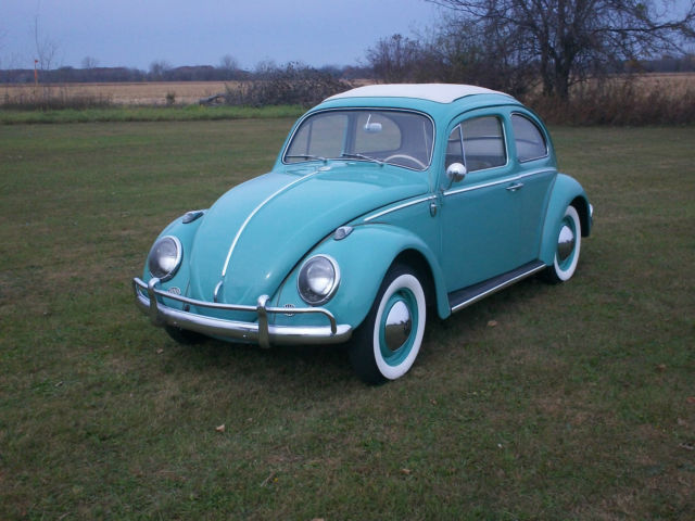1963 Vw Bug Classic Rag Top