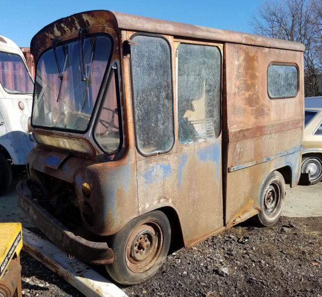 9816e7f11a8 1963 Willys Jeep FJ3 Fleetvan RHD Mail Truck Step Van Stepvan FJ-3 ...