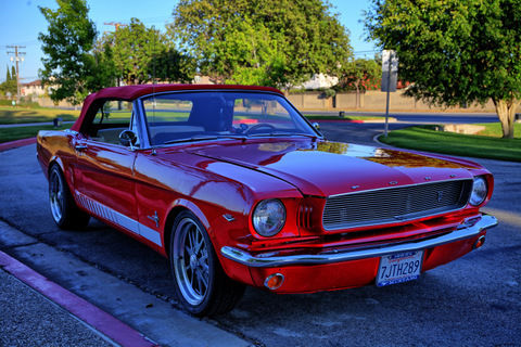 1964 1 2 convertible restomod classic ford mustang 1965 for sale. Black Bedroom Furniture Sets. Home Design Ideas