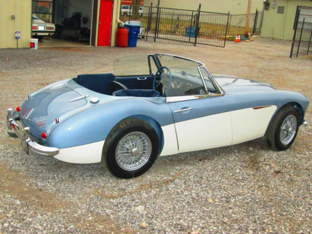 1964 austin healey 3000 mkii bj7 with overdrive classic. Black Bedroom Furniture Sets. Home Design Ideas