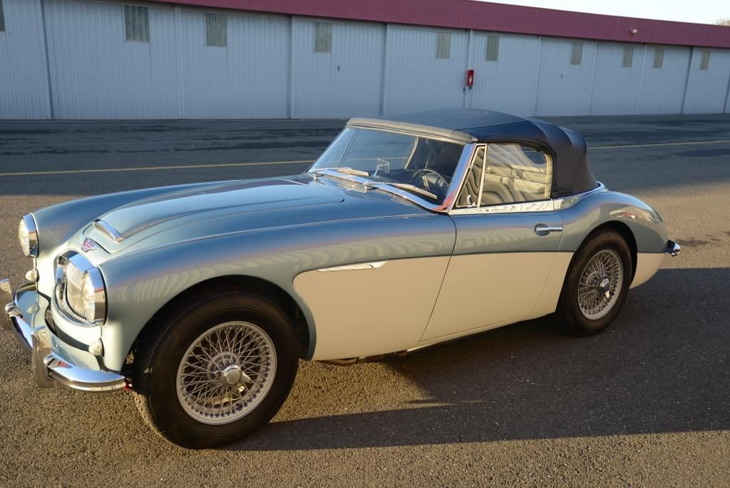 1964 austin healey 3000 mkiii san francisco car from new. Black Bedroom Furniture Sets. Home Design Ideas