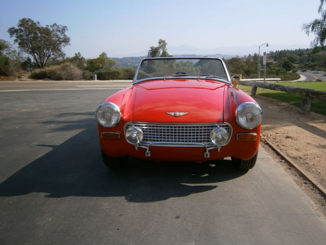 1964 AUSTIN HEALEY SPRITE MKII 1275, MOSS SUPERCHARGER,CALIFORNIA
