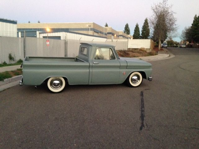 1964 C10 Chevy Truck Short Bed Fleet Side Truck From California New Motor Trans Classic