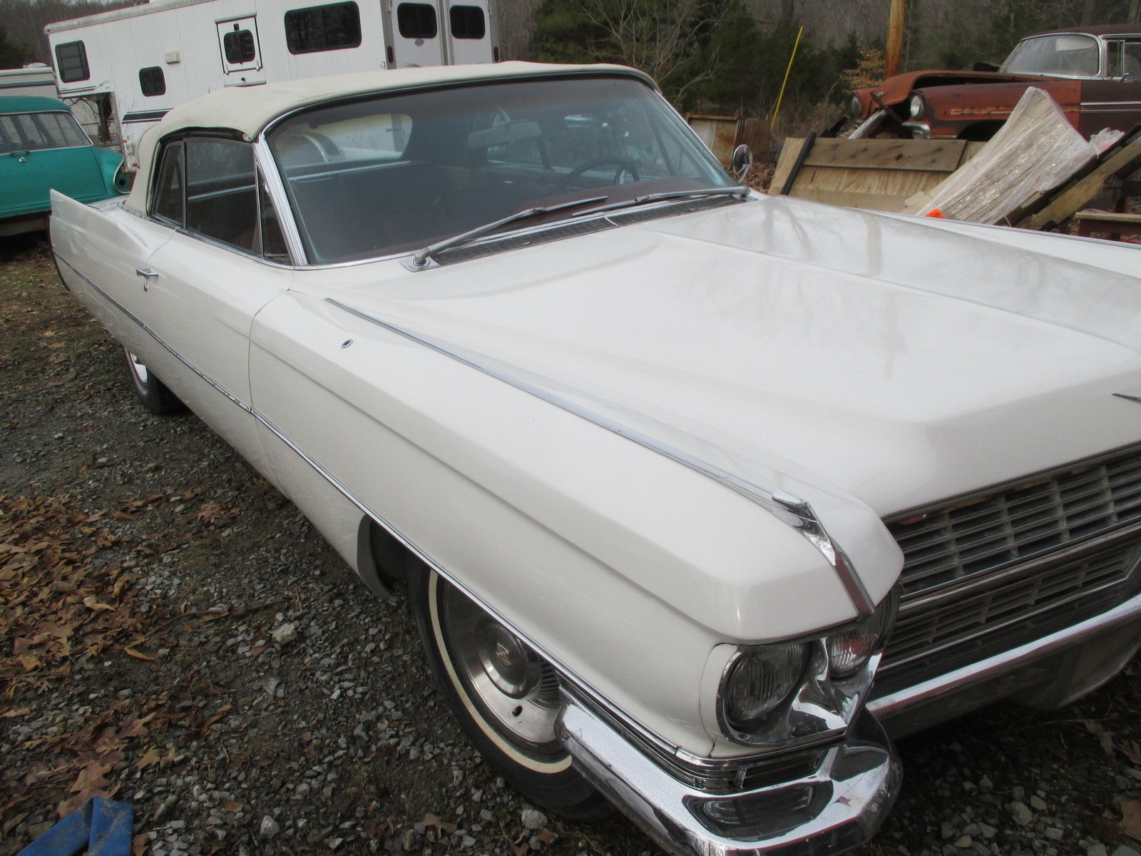 1964 cadillac convertible cruiser real muscle car not chevy or ford ...