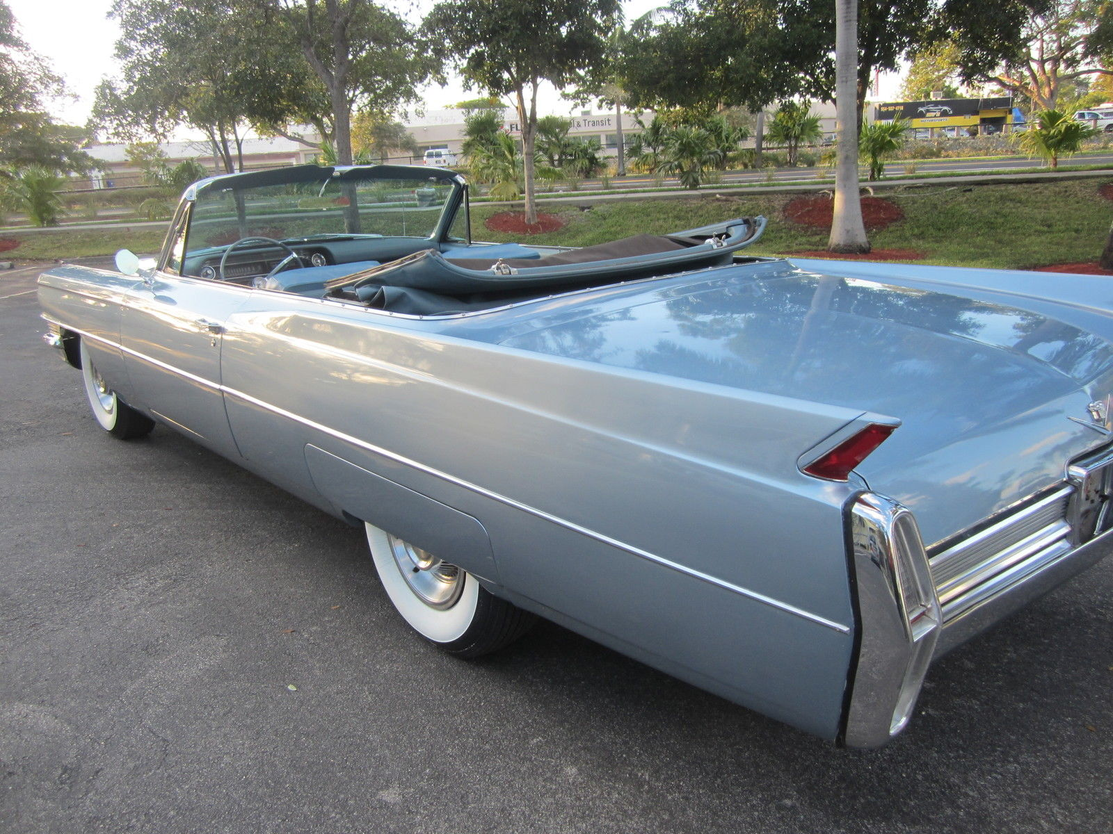 Classic Cadillacs For Sale >> 1964 CADILLAC DEVILLE CONVERTIBLE MINT RUST FREE FLORIDA ...