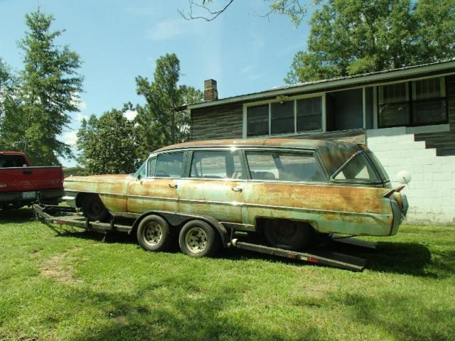 1964 cadillac hearse ambulance quot ghostbusters quot limo seats 6 rare barn find classic cadillac