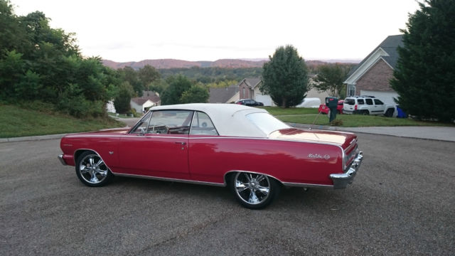 1964 Chevelle Malibu SS convertible Restoration Matching numbers No