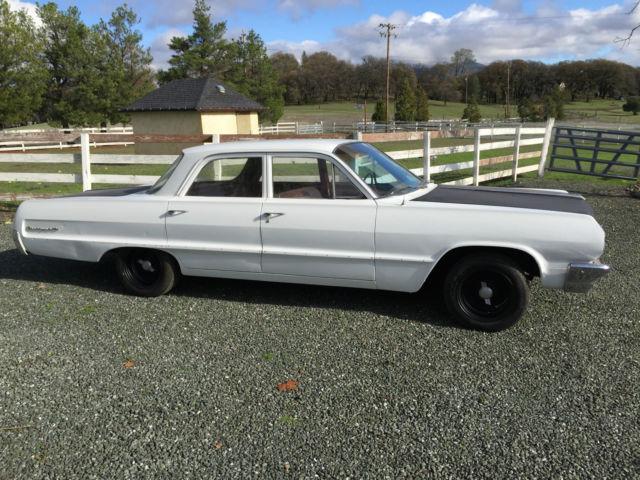 1964 Chevrolet Biscayne 4 Door Sedan Classic Chevrolet