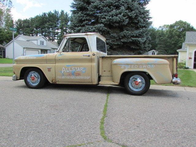 1964 Chevrolet C10 Short Box Step Side Quot Patina Quot Shop Truck