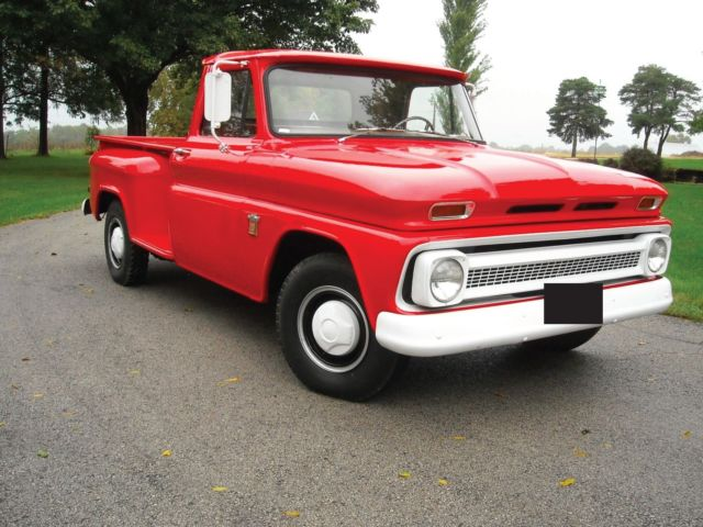 Chevrolet C Stepside Long Bed on 1965 Chevy Truck 292 Engine