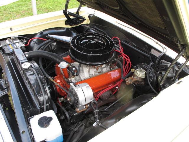 1964 Chevrolet Chevelle Malibu SS Convertible 327 4 SPD -Goldwood