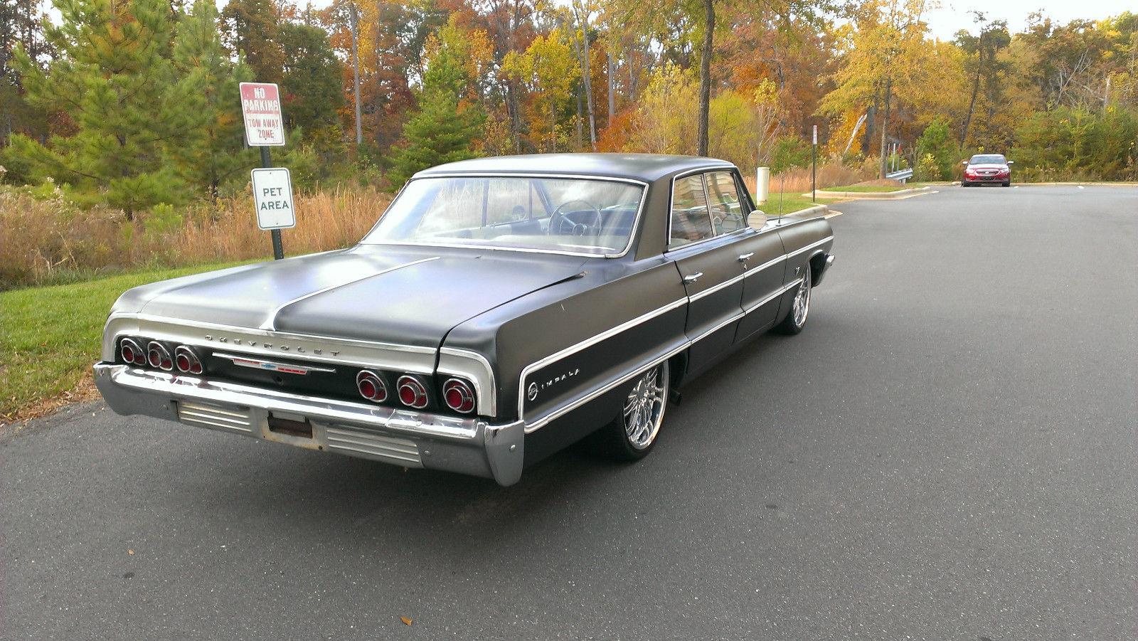 1964 chevrolet impala 4 door hardtop v 8 350 classic chevrolet impala 1964 for sale. Black Bedroom Furniture Sets. Home Design Ideas