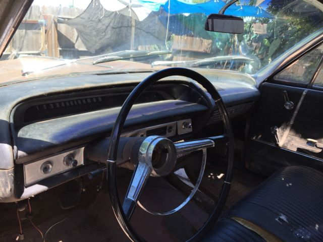 1964 chevrolet impala convertible barn find original 409 4 speed car classic chevrolet impala. Black Bedroom Furniture Sets. Home Design Ideas
