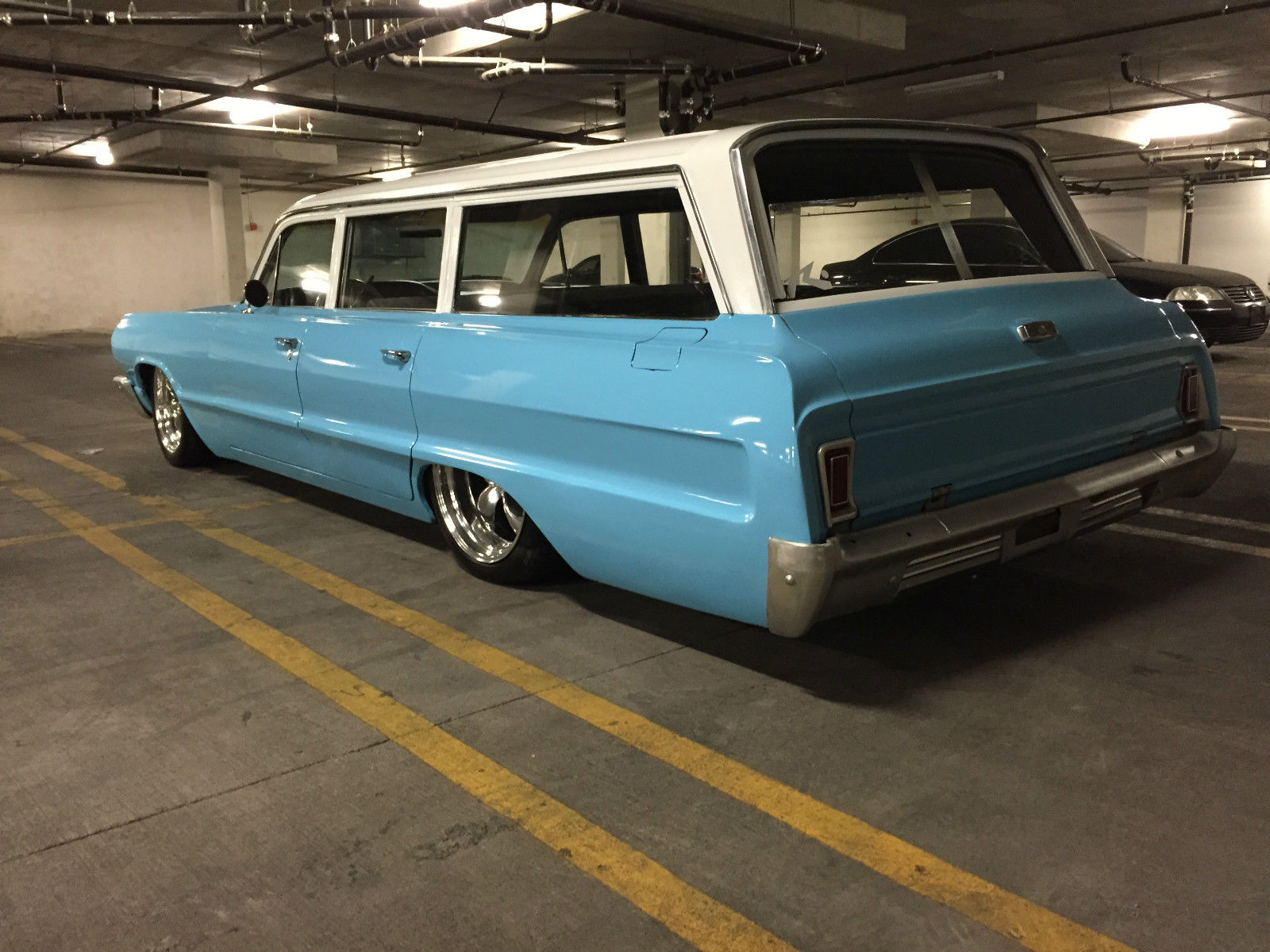 1964 chevrolet impala station wagon classic chevrolet impala 1964 for sale. Black Bedroom Furniture Sets. Home Design Ideas