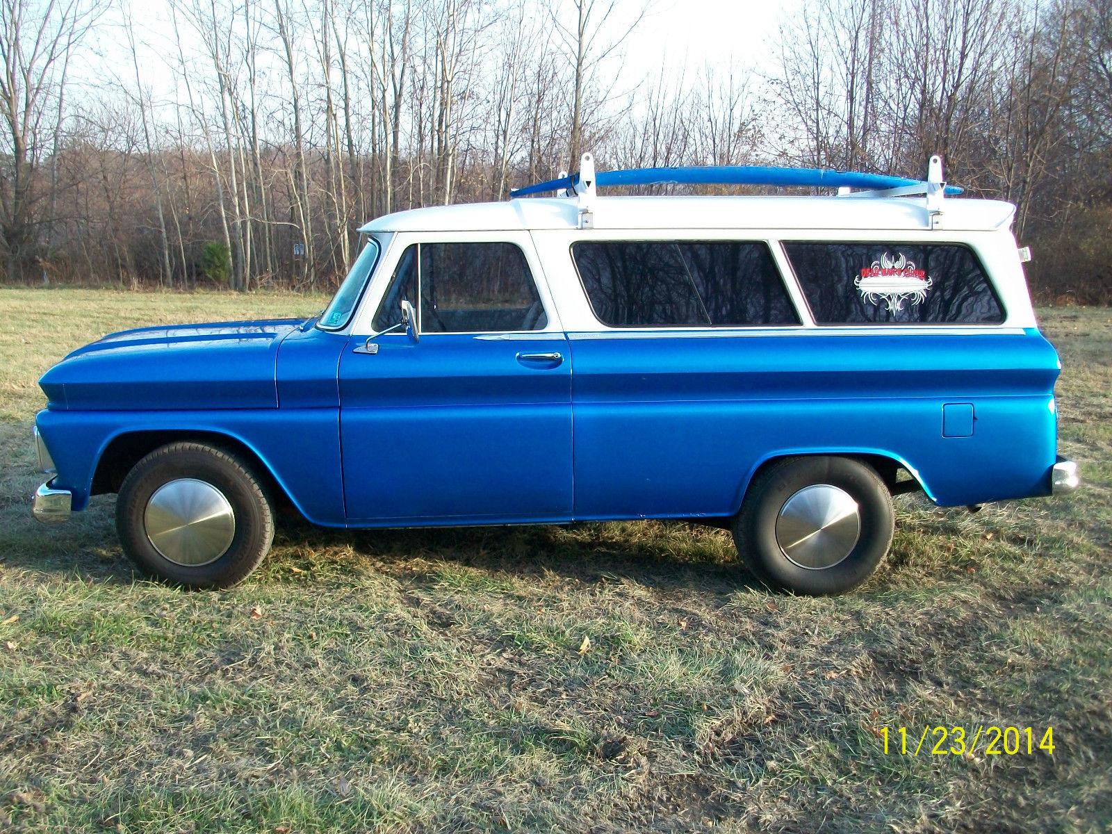 1964 chevrolet rare c 10 2 door suburban custom surf wagon for 10 door suburban