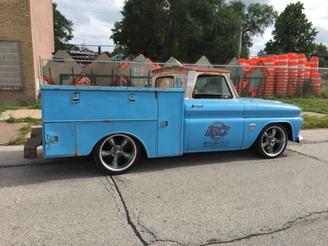 1964 Chevy C10 Rat Rod Utility Bed Truck Classic