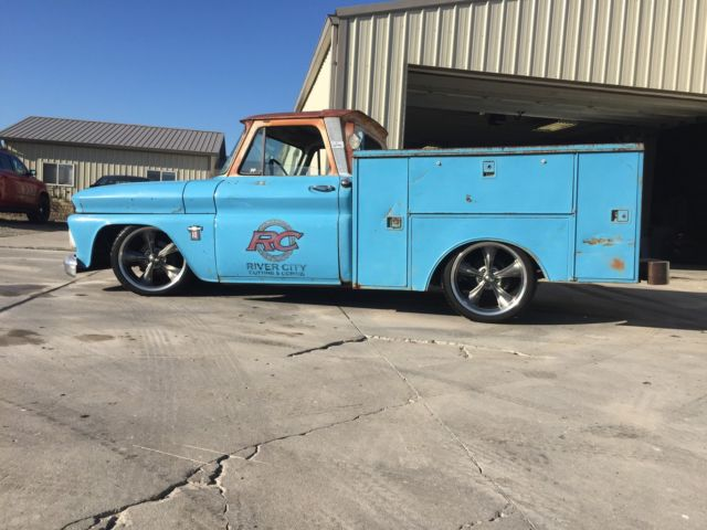 Utility Truck Beds For Sale >> 1964 Chevy C10 rat rod utility bed truck - Classic Chevrolet C-10 1964 for sale