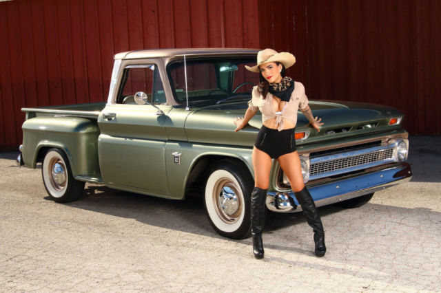 1964 chevy c10 stepside big back window truck restored show truck classic chevrolet c 10 1964