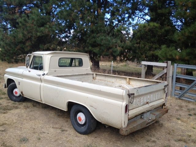 Spokane Used Cars >> 1964 chevy pickup truck c10 fleetside long bed survivor ...