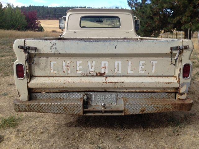1964 chevy pickup truck c10 fleetside long bed survivor ...