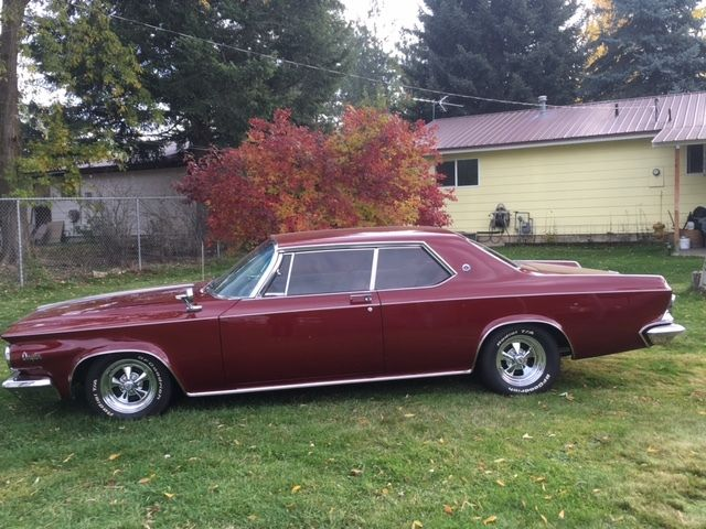1964 Chrysler 300 K 2 Door Hardtop Original Beautiful Car Look