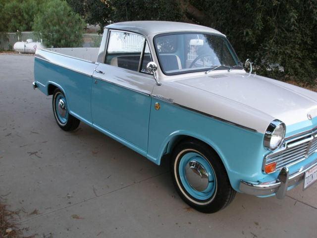 Curbside Classics: The First Mini-Pickups: Datsun's 1964 320 1200 ...