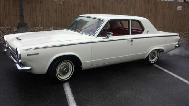 1964 dodge dart coupe 225 slant 6 cyl automatic one owner only 31 000 miles classic dodge. Black Bedroom Furniture Sets. Home Design Ideas